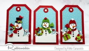 SUPER Cute Snowman Tags!