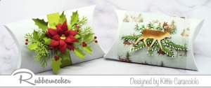 Pillow Gift Boxes for Christmas