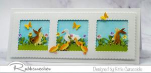 Slimline Happy Spring Cards!