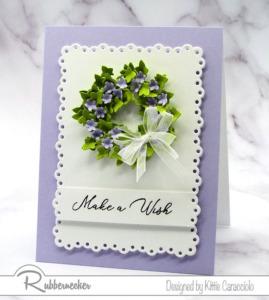 A Special Birthday Wreath Card