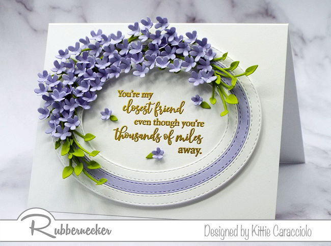 How To Make Tiny Paper Flowers For Cards