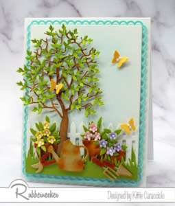 Dressing Up Tree Die Cuts To Bring Them To Life!