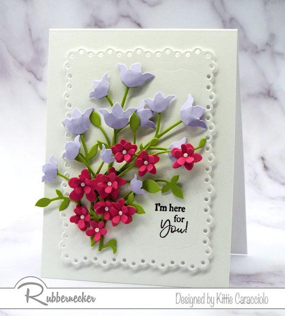 How To Make Paper Flower Card Arrangements