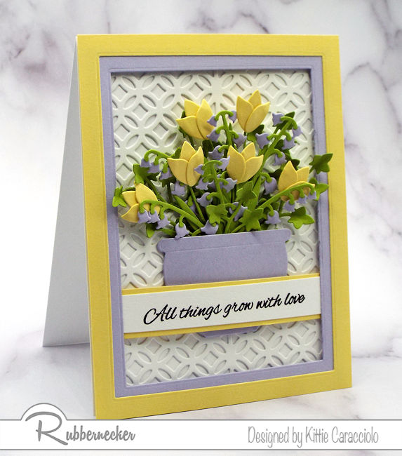 A Flower Card Idea You Can Use Over and Over!