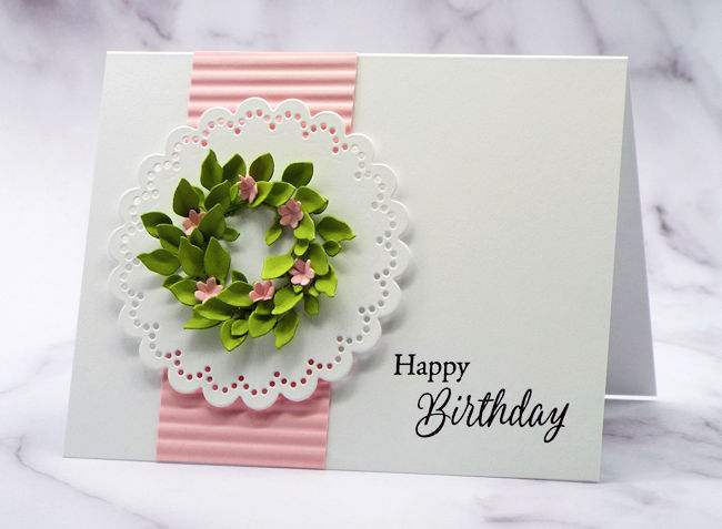 A Simple Design for Homemade Birthday Card Ideas