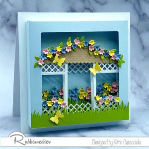 A Spring-Into-Summer Floral Gazebo Card