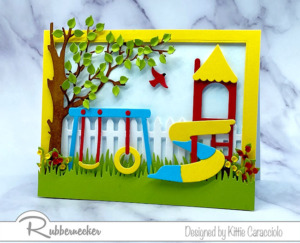A Fun Handmade Playground Card