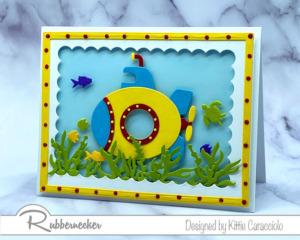 A Handmade Underwater Card- SO CUTE!