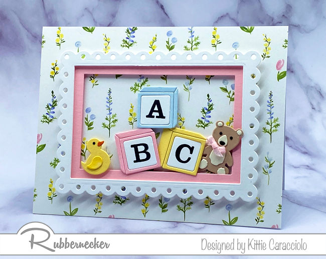 Such Sweet Baby Cards To Make!