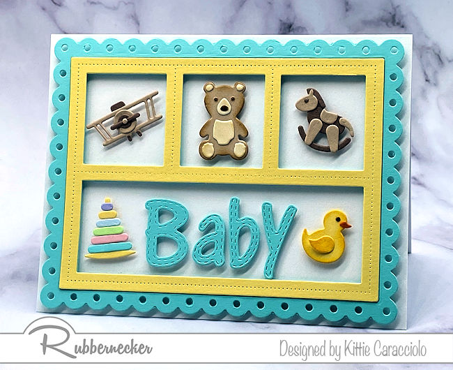 Adorable, Detail Loaded Handmade Baby Cards!