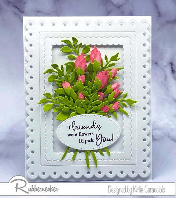 Use Small Flower Dies To Make Bouquets!