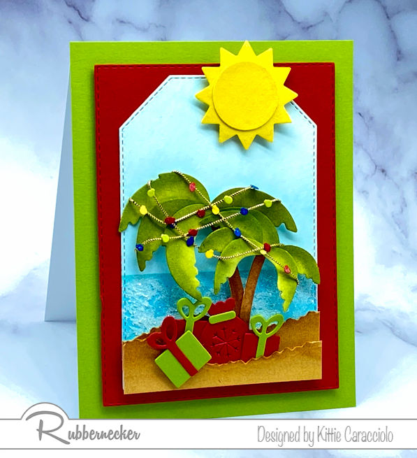 Christmas In July Cards – Tropical Style!