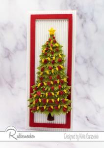 The Perfect Slimline Christmas Tree Card?