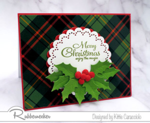 Easy Cards Decorated With Die Cut Holly