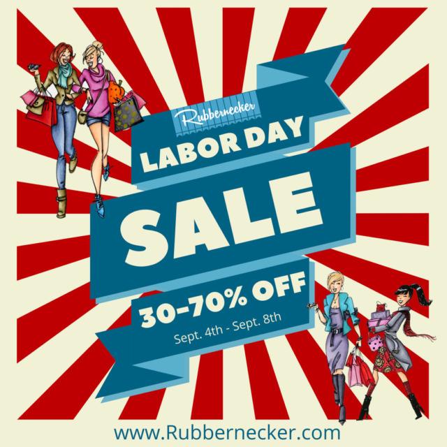 Rubbernecker Labor Day Sale 2021