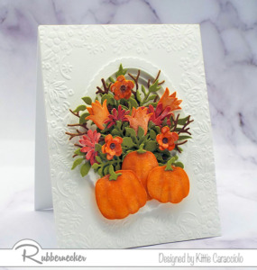 Handmade Fall Greeting Cards Loaded With Flowers!